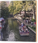 Riverwalk IIi Wood Print
