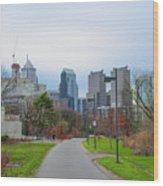 Riverwalk - Philadelphia Wood Print