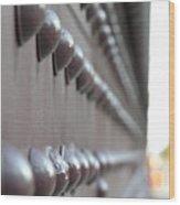 Rivets Wood Print
