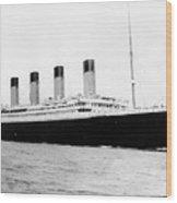 Rms Titanic Wood Print