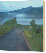 Road Less Traveled Wood Print