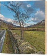 Road Less Travelled Wood Print