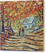 Road Of Life  Fine Art Wood Print