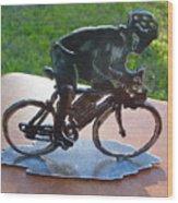 Road Race Wood Print
