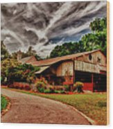 Road To Shiloh Farm's Barn Wood Print