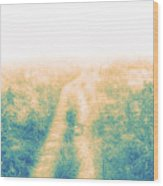 Road To Somewhere Wood Print