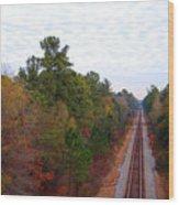 Road To Somewhere Wood Print