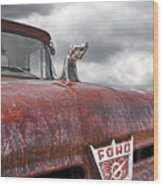 Roadkill Rat Rod Wood Print