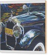 Roadmaster Wood Print