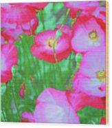 Roadside Flowers Wood Print