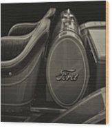 Roadster Antiqued Wood Print