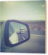 Roadtrip, Us Freeway Wood Print
