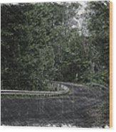 Roadway Fingers Lakes New York Area Pa 02 Wood Print