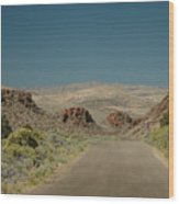 Roadway To Peace Wood Print