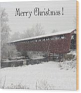 Roann Christmas Wood Print
