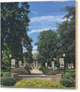 Roanoke College Wood Print