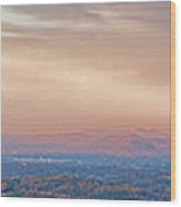 Roanoke Valley Wood Print
