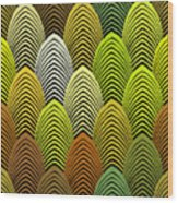 Roaring 20's Yellow Wood Print