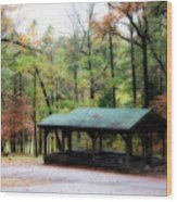 Robbers Shelter Wood Print