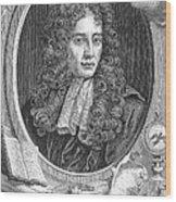 Robert Boyle, Irish Polymath Wood Print