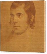 Robert Burns. Poet Wood Print