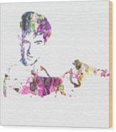 Robert De Niro Taxi Drvier Wood Print