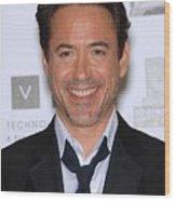 Robert Downey Jr. In Attendance Wood Print by Everett