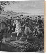 Robert E. Lee And His Generals Wood Print