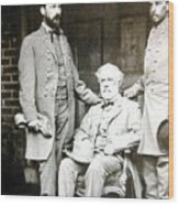 Robert E Lee Wood Print