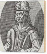 Robert II Of Scotland, 1316 Wood Print