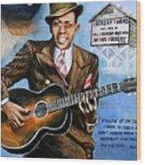 Robert Johnson Mississippi Delta Blues Wood Print