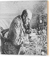 Robert Koch, German Bacteriologist Wood Print