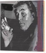 Robert Mitchum As Phillip Marlowe Neo Film Noir  The Big Sleep  1978. Wood Print