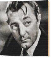 Robert Mitchum Hollywood Actor Wood Print
