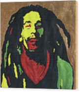 Robert Nesta Marley Wood Print