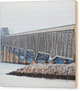 Robert O. Norris Bridge Wood Print