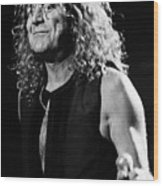 Robert Plant-0039 Wood Print
