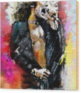 Robert Plant 03 Wood Print