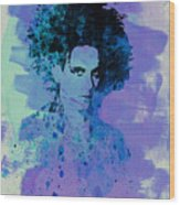 Robert Smith Cure Wood Print