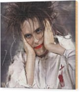Robert Smith - The Cure Wood Print