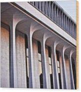 Robertson Hall At Princeton University Wood Print by Ryan Kelly