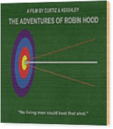 Robin Hood Movie Poster Wood Print