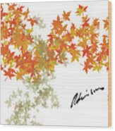 Robinson Camo Leaves Range Wood Print