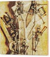 Robolts Wood Print