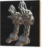 Robotic Limbs Wood Print