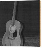 Robyn Hitchcock's Guitar Wood Print