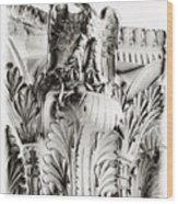 Rocco Eagle Wood Print