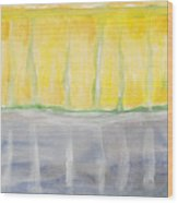 Rochester - Abstract Weather Wood Print