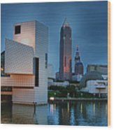 Rock And Roll Hall Of Fame And Museum Wood Print