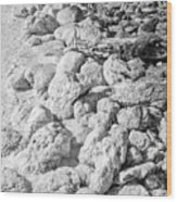 Rock And Salt 2 Wood Print